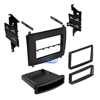 $44.95 • Buy Car Radio Stereo Single Double Din Trim Dash Kit For 2003-2007 Cadillac SRX CTS