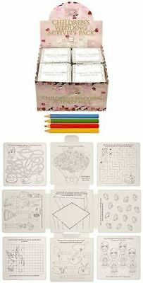 £8.95 • Buy Wedding Activity Pack Games Puzzles Colouring Book Children Kids Party Bags