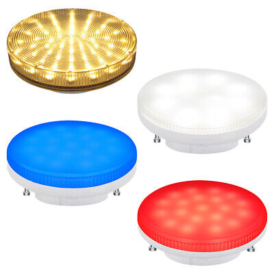£5.99 • Buy GX53 LED SMD 3W Light Bulb Replacement For CFL GX53 Warm White Blue Cool White
