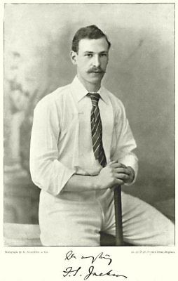 YORKS CRICKET.FS JACKSON-Harrow;Cambridge;Gentlemen;England All-rounder 1896 • 9.99£