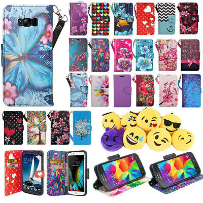 $ CDN12.58 • Buy For Samsung Galaxy S8 Plus Phone Case Hybrid PU Leather Wallet Pouch Flip Cover