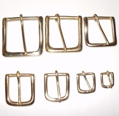 £3.17 • Buy West End Buckle Solid Cast Brass Belt Strap Buckle 7 Sizes - 0.75 Inch - 2 Inch