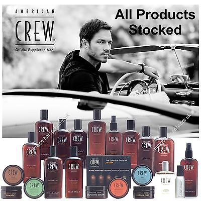 £14.95 • Buy American Crew Mens Hair Products Style Shave Wash Colour ALL PRODUCTS STOCKED