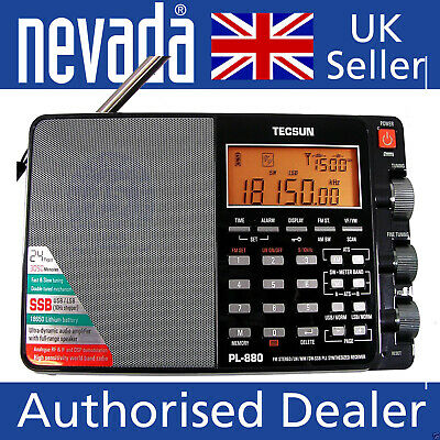 Tecsun PL-880 Portable World Band Radio With AM/FM/LW And SSB Modes  • 189.95£