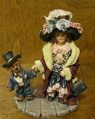 $31 • Buy Boyds Dollstones #3529 AMY And EDMUND...MOMMA'S CLOTHES, NEW From Retail Store