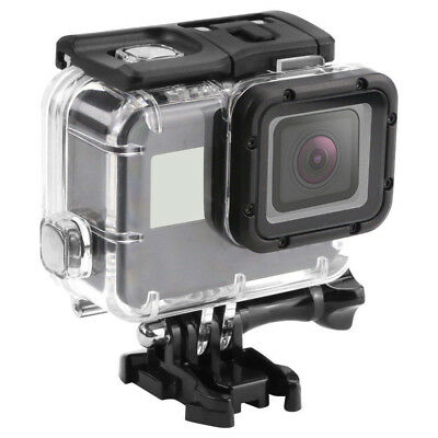 $ CDN15.73 • Buy 45M Underwater Waterproof Housing Case W/mount For GoPro Hero 5 6 7 Black Sports