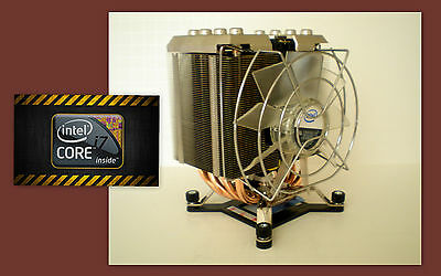 $ CDN77.94 • Buy Intel I7 Extreme Cooler Fan Heatsink For I7 990X 980X CPU LGA1366 - New (No CPU)