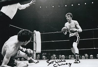 £34.99 • Buy Charlie Magri Hand Signed Boxing 12x8 Photo 1.