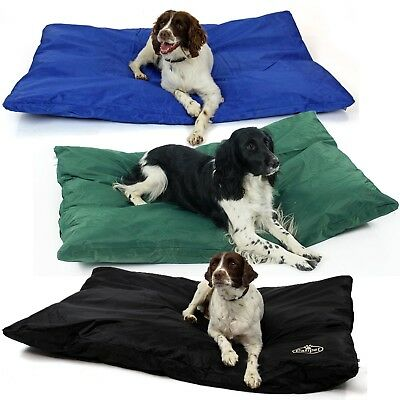 Waterproof Dog Bed Heavy Duty Cover Hardwearing Puppy Pet Cushion Mattress Tough • 21.99£