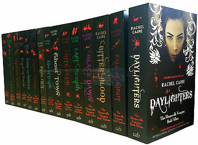 £319.45 • Buy The Morganville Vampires Series Collection Rachel Caine 15 Books Set