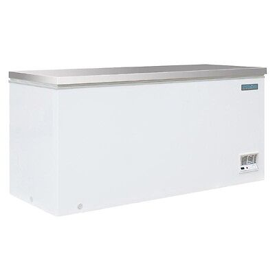 Polar Chest Freezer With Stainless Steel Lid 516 Ltr Litre Commercial  - CM531 • 775.50£