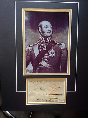 £125 • Buy Duke Of Kent & Strathearn - Father Of Queen Victoria - Signed Photo Display