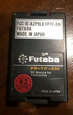 $24 • Buy Futaba G Transmitter Module Fp-tf-am 72.830 Wide Band Ch42 Fgk