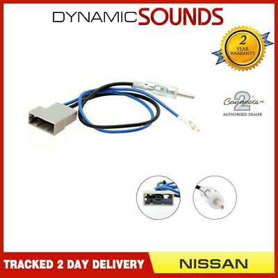 £9.95 • Buy Connects2 CT27AA75 Car Stereo Radio Antenna Aerial Adaptor For Nissan