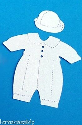 £1.20 • Buy Baby Die Cuts Baptism Christening Religious Wedding 10 Suits Hats Card Toppers