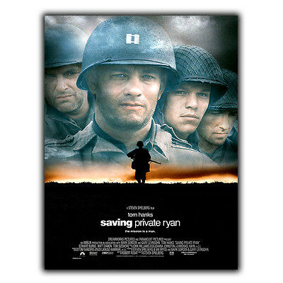 Saving Private Ryan Steven Spielberg SIGN METAL WALL PLAQUE Film Poster Print • 4.95£