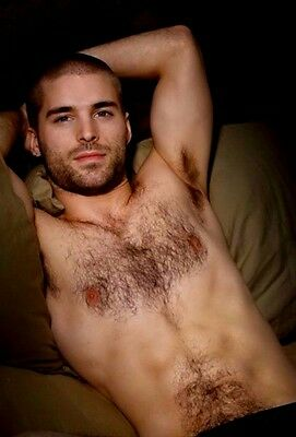 $ CDN3.71 • Buy Shirtless Male Beefcake Handsome Hairy Pits Chest Bearded Stud PHOTO 4X6 D532