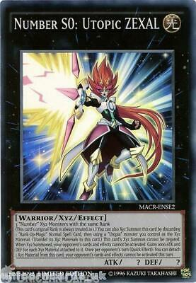 MACR-ENSE2 Number S0: Utopic ZEXAL Super Rare Limited Edition Mint YuGiOh Card!  • 8.69£