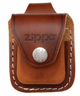 $11.50 • Buy Zippo Lplb Brown Lighter Pouch Loop Leather, New In Box