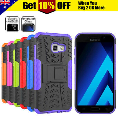 AU6.45 • Buy For Samsung Galaxy S9 A5 A7 J2 Pro Shockproof Heavy Duty Case Cover Kickstand