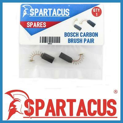 £5.99 • Buy Spartacus SPB034 Carbon Brush Brushes & Spring Spare Pair For Bosch Models