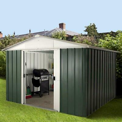 Yardmaster Metal Garden Shed, 10x13, 10 Year Guarantee - Assembly Service Avail • 520.59£