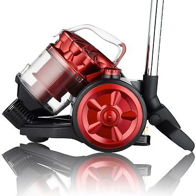 View Details Dihl A RATED 2L Compact Cylinder Vacuum Cleaner Cyclonic Bagless HEPA Hoover • 29.99£