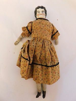$ CDN79.27 • Buy ANTIQUE CHINA Porcelain GERMANY GERMAN DOLLHOUSE DOLL Approx 7 1/4  Tall