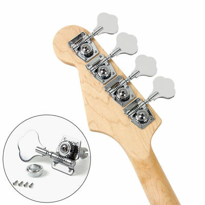 $ CDN19.48 • Buy 4 Pcs Guitar Bass Machine Heads Knobs Tuners Tuning Pegs Tuners For Guitar