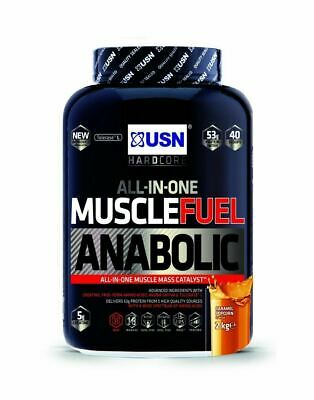£34.19 • Buy USN Muscle Fuel Anabolic All In One Muscle Mass And Growth Shake Powder - 2kg