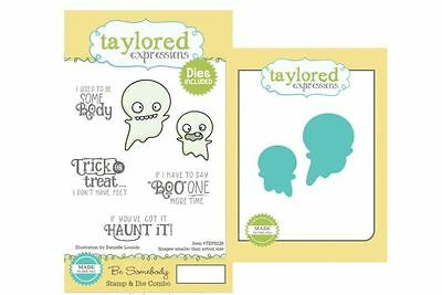 Taylored Expressions Rubber Cling Stamp(6) & Die(2) Set  BE SOMEBODY ~TEPS226 • 18.89$