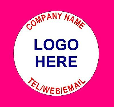 £2.59 • Buy Personalised Business Name Stickers Thank You Seals Your Logo Labels Address