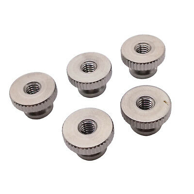 $8.20 • Buy US Stock 5pcs M4 X 0.7mm Stainless Steel Knurled Thumb Nut Right Hand Thread