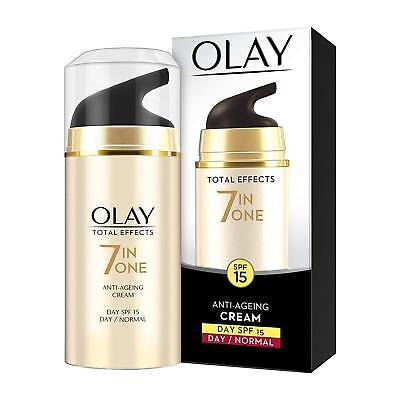 AU29.54 • Buy Olay Total Effects 7-in-1 Anti Aging SPF15 Skin Day Cream, Normal, 20g All Skin