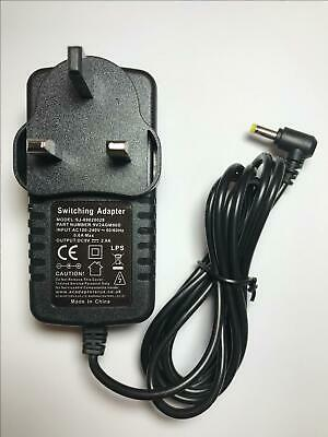 £11.99 • Buy 9V UK AC-DC Adaptor Power Supply Charger For Logic3 IStation Base For The MPS024