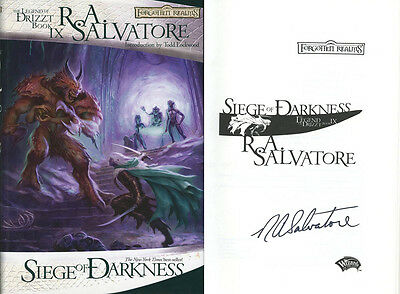 ra salvatore signed