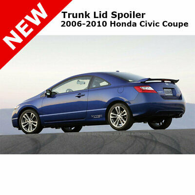 $ CDN158.13 • Buy For Honda Civic 2D 06-11 SI Trunk Rear Spoiler Painted NIGHTHAWK BLACK B92P