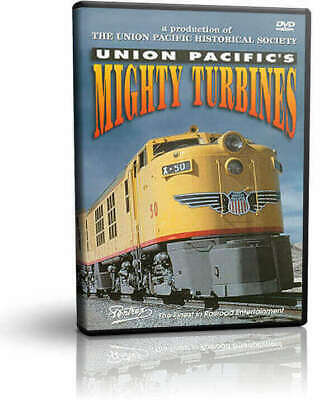 $19.95 • Buy Union Pacific's Mighty Turbines - Pentrex Railroad Train Diesel Video
