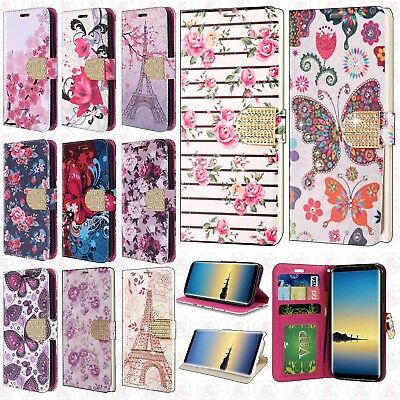 $ CDN12.91 • Buy For Samsung Galaxy Note 8 Leather Premium Wallet Case Pouch Flip Phone Protector