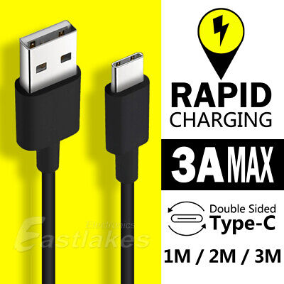 AU5.45 • Buy USB Type C Rapid Charging Data Cable USB-C For Samsung S20 S10 S9 S8 Plus Ultra