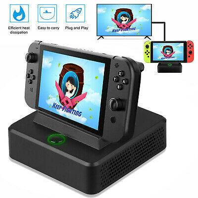 $22.39 • Buy TV Switch HDMI Converter Charging Dock Station Cooler Stand For Nintendo Switch