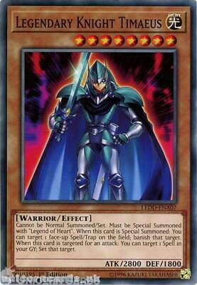 LEDD-ENA07 Legendary Knight Timaeus 1st Edition Mint YuGiOh Card • 0.99£