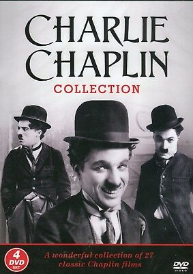 £15.99 • Buy The Charlie Chaplin Collection - 4 Dvd Box Set - 27 Classic Films