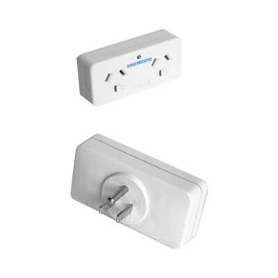 AU25.16 • Buy Sansai Double Aus To Single Usa Canada Travel Adapter Surge Stv2009
