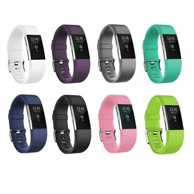 $ CDN4.65 • Buy For Fitbit Charge 2 Strap Replacement Silicone Watch Band Fitness Wristband
