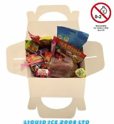 Retro Mix Sweets Gift Box Sweet Hamper Candy Treats Present Birthday Kids Party • 6.99£