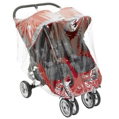 Twin Baby Jogger City Mini Series Double Raincover • 13.95£