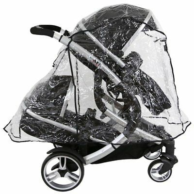 Britax Bdual Tandem Raincover IN LiNe (Large) All In One Version • 13.95£