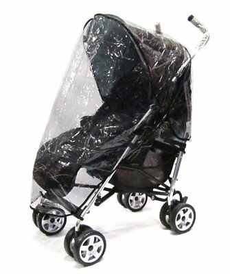 Rain Cover Tofit Hauck Stroller Turbo 11 Pushchair • 9.95£