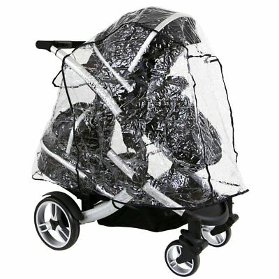 Hauck Duett Tandem Raincover IN LiNe (Large) All In One Version • 13.95£
